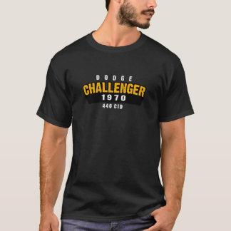 Camiseta Sombra do homem das cavernas do desafiador de 1970