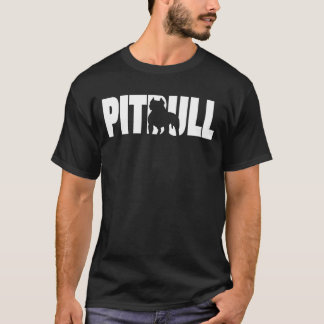 Camiseta Sombra do pitbull