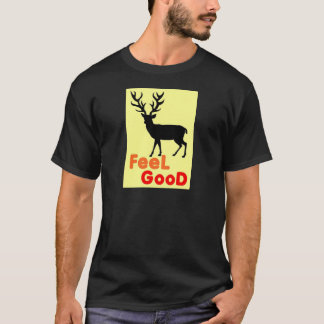 Camiseta Sombra dos cervos da sensação boa