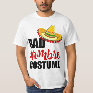 Camiseta Sombrero colorido do traje mau de Hombre