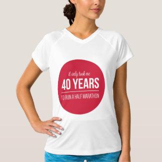 Camiseta somente 40 anos