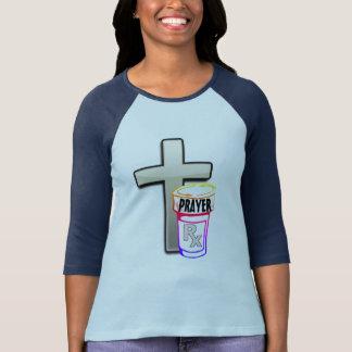 Camiseta Somente a prescrição que você precisa é ORAÇÃO