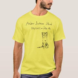 Camiseta Somente o deus pode julgar-me