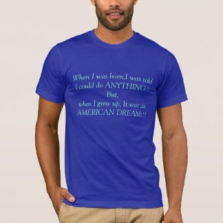 Camiseta Sonho americano