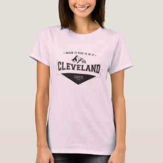 Camiseta Sonho desejo ele fá-lo Cleveland Ohio