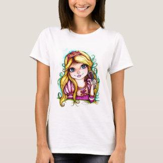 Camiseta Sonho do conto de fadas de Rapunzel