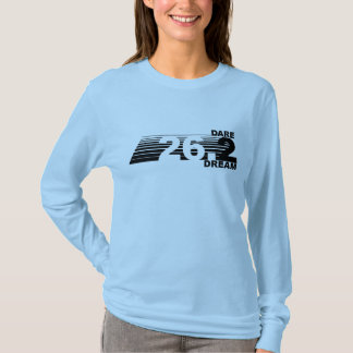 Camiseta Sonho do desafio 2 - o TShirt longo de 26,2
