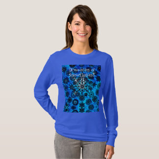 Camiseta Sonho dos flocos de neve!