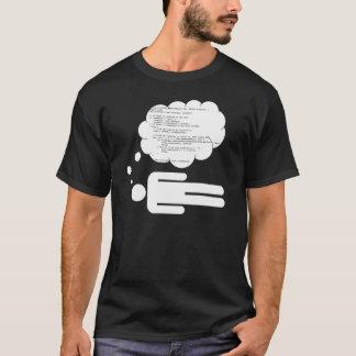 Camiseta Sonho no código