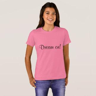 Camiseta Sonho no T do verão