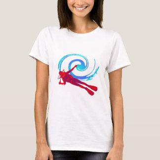 Camiseta Sonhos do mergulhador