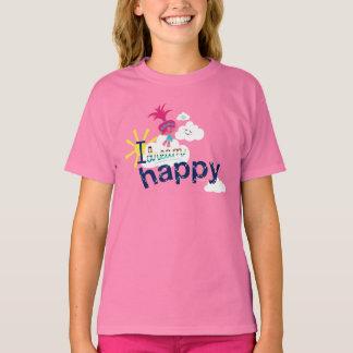 Camiseta Sonhos felizes dos troll |