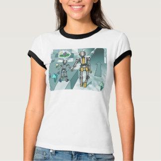 Camiseta Sonhos pequenos do robô da casa