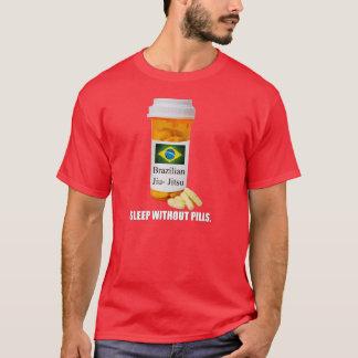 Camiseta Sono de BJJ sem o t-shirt da obscuridade dos