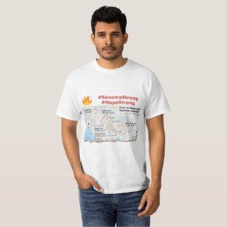 Camiseta Sonoma forte, t-shirt fortes de Napa