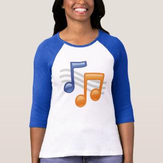 Camiseta Sons musicais