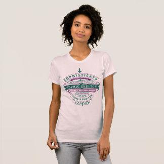"Camiseta Sophisticats da ""design fita"" para mulheres"