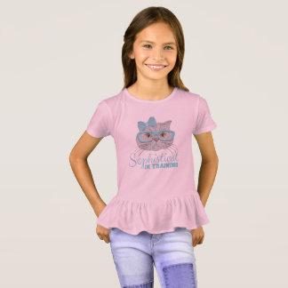 """Camiseta Sophisticats """"no treinamento"""" para jovens senhoras"""