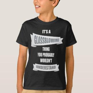 Camiseta Sopro de vidro