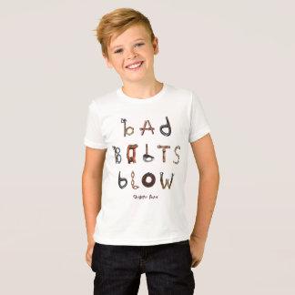 Camiseta Sopro mau dos parafusos - o jérsei fino T do miúdo