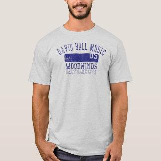 Camiseta Sopros da música de David Salão