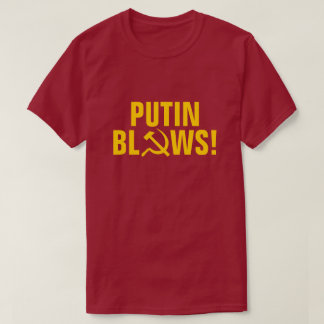 Camiseta Sopros de Putin!