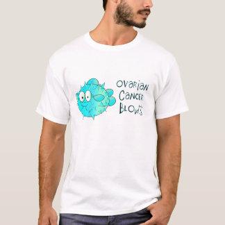 Camiseta Sopros do câncer de ovário