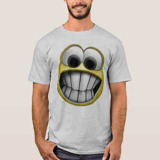 Camiseta Sorrindo o smiley face feliz
