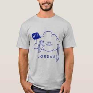 Camiseta Sorriso da cara da nuvem dos troll |