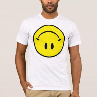 Camiseta Sorriso de cabeça para baixo grande