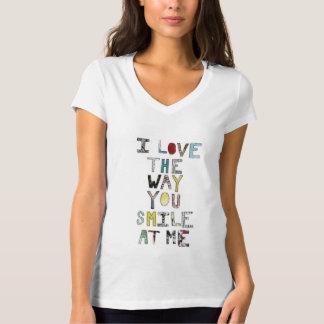 Camiseta sorriso do amor