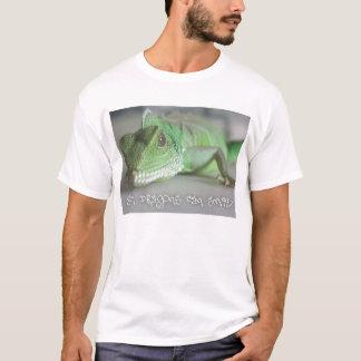Camiseta Sorriso do dragão de água