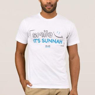 Camiseta Sorriso:) é Sunnah