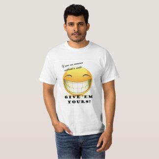 Camiseta Sorriso grande!