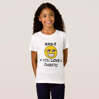 Camiseta Sorriso para o diabetes