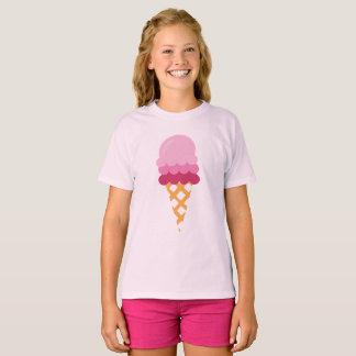 Camiseta Sorvete da morango