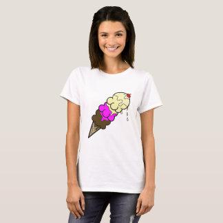 Camiseta Sorvete napolitana