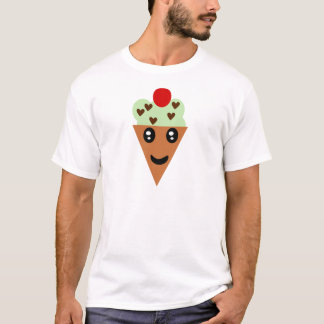 Camiseta Sorvete querido dos pedaços de chocolate da