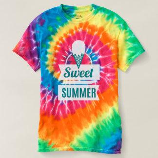Camiseta Sorvete. Verão doce