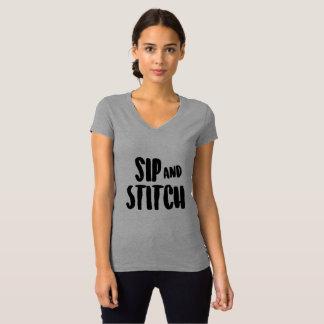 Camiseta Sorvo e ponto