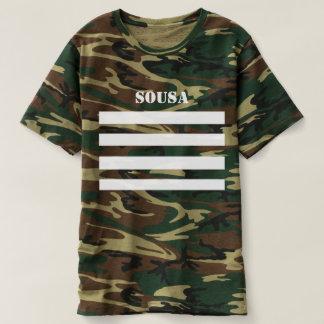 Camiseta SOUSA Merch do Tshirt de Camo
