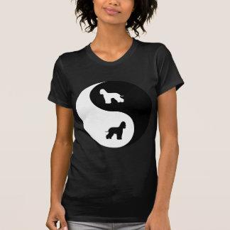 Camiseta Spaniel de água irlandesa Yin Yang