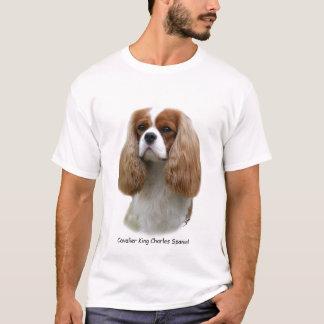 Camiseta Spaniel de rei Charles descuidado
