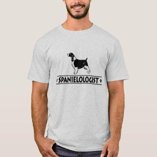 Camiseta Spaniel de Springer inglês cómico