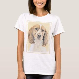 Camiseta Spaniel de Springer inglês que pinta a arte