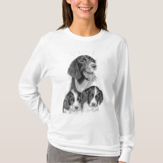 Camiseta Spaniels de Springer inglês