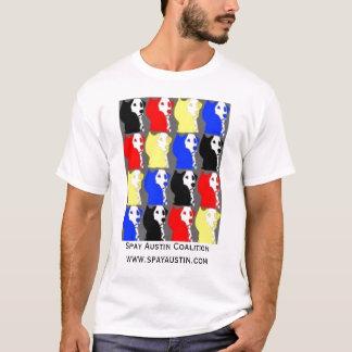 Camiseta Spay a aliança de Austin