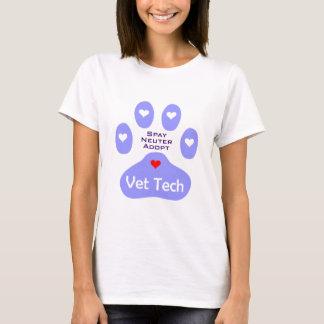 Camiseta Spay, neutralize, adote a tecnologia do