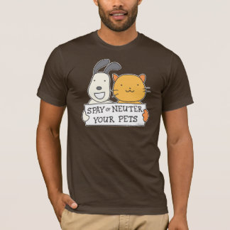 Camiseta Spay ou neutralize (a bandeira)