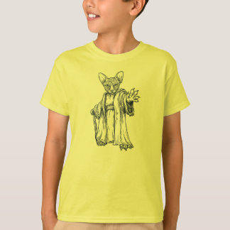Camiseta Sphynx mestre Lineart - miúdos